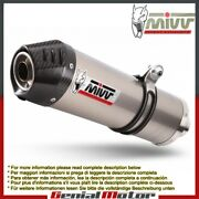 Mivv Approved Exhaust Mufflers Oval Titanium For Kawasaki Z 1000 2003 2006