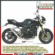 Mivv Exhaust Muffler X-cone Stainless Steel For Triumph Speed Triple 2005 2006