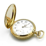 Vintage Wright, Kay And Co Pocket Watch - Solid 14k Gold