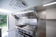 9and039 Mobile Concession Hood System With Exhaust Fan