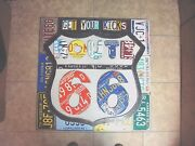 Us Route 66 Sign Get Your Kicks And Map Your Way Route 66 License Plate Sign