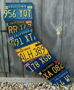 Usa License Plate States Any State You Want From The U.s. Map