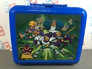 Disney Mighty Ducks Aladdin Collectible Plastic School Lunch Box And Thermos