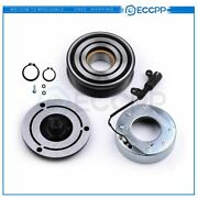 Eccpp Ac Compressor Clutch Kit Pulley Bearing Coil Plate For 02-08 Mini Cooper