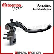 Radial Front Brake Pump Brembo Racing Pr 16x16 Obtained Cnc Short Folding Lever