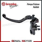 Radial Clutch Pump Brembo Racing Pr 16x19 Obtained By Cnc With Folding Lever
