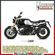 Mivv Approved Exhaust Mufflers X-cone Black Steel High Bmw R Nine T 2014 14