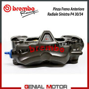 Radial Rear Brake Caliper Brembo Racing Left Monobloc Cnc P4-30/34 Without Pad