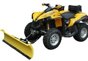 Atv Quad Snow Plough Plow Dedicated Front Mounting Can Am Renegade 800 G1