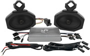 Roll Cage 2- 5x 7 Speakers And Amp Bluetooth Polaris Rzr Honda All
