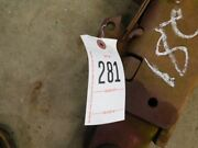 Ih 806 Tractor Lower 3 Point Lift Arm Tag 281