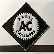 Allis Chalmers Farm Garden Tractor Collectors Logo Decal Patch For Hat, Shirt