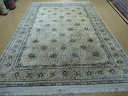 6and039 X 9and039 Vintage Fine Hand Made Pakistan Oriental Floral Wool Rug Carpet Nice