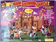 Vintage Toy Street King Arthurand039s Castle Playset In Box Near Complete
