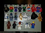 Lego Super Hero And Batman And Star Wars Led Flash Lights Figures Of 20