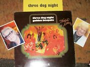 Three Dog Night Autographed Album And Photos Collectible