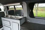 Vw T5/6 Campervan Conversion Unit With Window Surround And Shelfand Rear Bench Unit