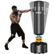 Free Standing Punching Bag Heavy Boxing Bag With Suction Cup Base Kick Punch Bag