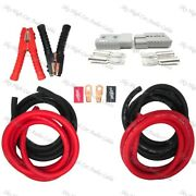 1/0 Gauge 33 Ft Universal Quick Connect Wiring Kit, Trailer Mounted Winch 2201b