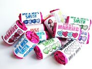 Personalised Love Hearts Sweets Wedding Favours Just Married - Any Colour