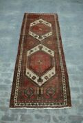 Antique Primitive Caucasian Rug / Hand Knotted Rug 100 Wool Tribal Rug Runner