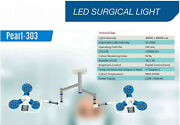 Led Surgical Light Ceiling Mobile Wall Mounted No Of Led 36 + 36