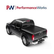 Retraxpro Mx Roll-up Hard Folding Tonneau Cover For 05-20 Frontier King 4and03911