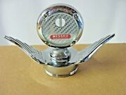 Extremely Rare 1930and039s Era Messko Thermomter Motometer Winged Wing Hood Ornament