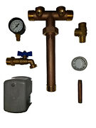 Pressure Tank Tee Union, 1x11 For Water Well, Lf Brass, You Pick The Square D