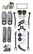 Currie Johnny Joint 4 Lift Suspension Kit,upper Arms,coil Springs,07-18 Jk 4d