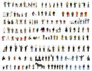 Bachmann Sets Of High Quality Hand Painted Figures In Oo Gauge