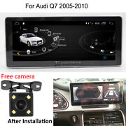 Android 10 Car Gps Nav Touch Navigation Screen Monitor For Audi Q7 4l 2005-2010