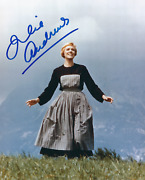 Julie Andrews Signed The Sound Of Music 8x10 Photo - Uacc And Aftal Rd Autograph