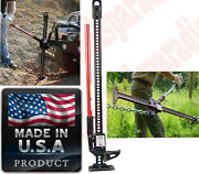 Steel High Lift Chain Jack All Purpose Mechanical Fence Post Puller Winch Clamp