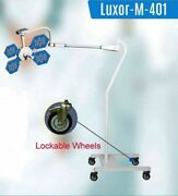Mobile Ot For Super Specialty Surgery Led Light Lockable Wheels No Of Led 48