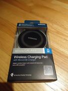 Genuine Samsung Oem Galaxy Wireless Charging Pad, Adaptive Charger Plus 2 Cables