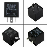 3pin Electronic Auto Flasher Relay Cf13 Jl-02 Fixes Led Light Fast Hyperblinking