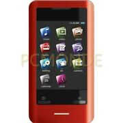 Coby Mp828-8gred 8 Gb 2.8-inch Video Mp3 Player With Fm Radio - Red Pp