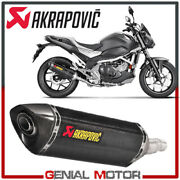 Exhaust Carbon Approved Muffler Akrapovic For Honda Nc 700 X 2012 2020