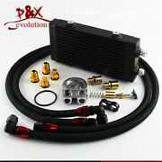 176f Thermostatic Filter Adapter 9.5 Small Dual Pass Bar And Plate Oil Cooler Kit