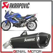 Exhaust Titanium Approved Muffler Akrapovic For Bmw F800r 2017 2019