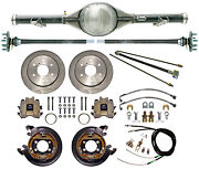 Currie 73-87 Chevy C10 6-lug Truck Dropped Rear End And Disc Brakes,lines,cables