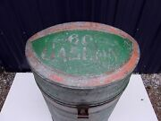Antique Standard Oil Can-60-gal Original Paint- Rare-selling Out Make Offer