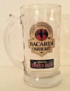 New Lot Of 24 14 Oz Bacardi Oakheart Smooth Spiced Rum Glass Mugs Steins Beer
