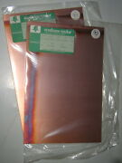 New Vtg 8x12 Pcb Blank Circuit Board Copper Clad Sheet Unperforated - Solid Nos