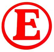 Race Car Extinguisher Red E 3andrdquo Diameter Decal Required By Scca Racing Clubs
