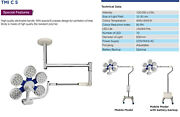Led-surgical-ot-lights-ceiling-twin-type-tmi-c-5 Mobile N Wall Model
