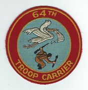 50and039s 64th Troop Carrier Squadron Patch