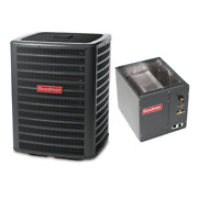 4 Ton 15 Seer Goodman 2-stage Air Conditioning Condenser And Coil