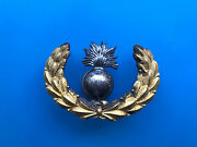 Extremely Rare Pre Ww1, Us Army Hat Badge Ordinance Corps Sergeant Insignia